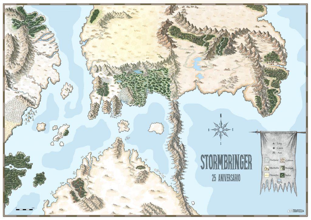Mapa Stormbringer